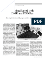 Getting Started With DMR and DSDPlus