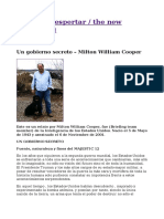 Un Gobierno Secreto – Milton William Cooper