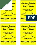 American Legion - Draft
