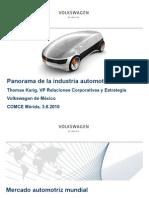 Panorama de la Industria Automotriz 2010