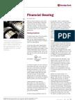 Financial Gearing Screen