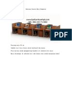 Rencana Desain Meja Komputer