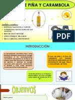 Licor de Carambola y Piña Completo