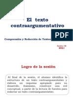 El Texto Contraargumentativo 2018-1
