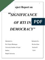 Rti Project
