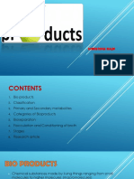 Bioproducts Ppt