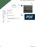 INNOLA Sofa Tamu 3 Seater