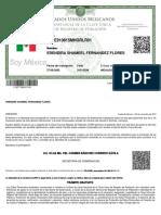 CURP Mexicana