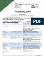 Worksheet 1 Ppst