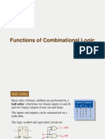 Functions of Combinational Logic Notes