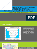 Case Study on Water Supply and Distribution