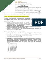 EVS Notes,Unit 4, B.tech RU
