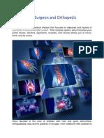 Orthopaedic Surgeon and Orthopedic Treatment