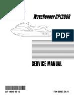 yamaha gp 1200 r service manual