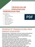 Kompetisi Budaya Dalam Riwayat Kesehatan Dan Pemeriksaan Fisik K.2