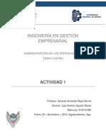 Actividad 1 T4 - Administración de operaciones