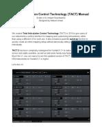 ISW Tact 2 Manual