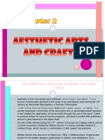 Aesthetic Arts and Craft