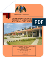 MTI - Returning Residents Information Manual [Dominica]
