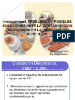 MIcrobiologia de Alimentos Ing. JOrge Ordoñez Titular I Cunsur 22 nov 2010