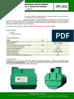 Fiche technique MSE_S+®parateur-D+®bourbeurs-Hydrocarbures