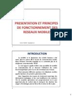 Présentation Des Réseaux Mobiles Et Principes de Fonctionnement 2018_v4