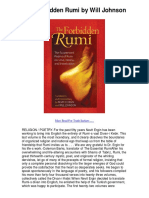 Download the Forbidden Rumi by Will Johnson Kindle eBook