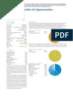 Franklin fund factsheet