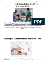 Why See an Endodontist vs Dentist