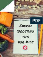 Energy Boosting Tips for Kids - MyLittleMoppet
