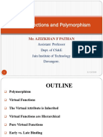 Virtual Functions and Polymorphism