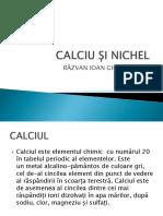 Calciu Si Nichel