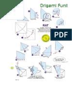 Origami Rat Fun _ Rat by Eric Joisel
