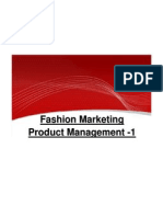Fashion Marketing - Product Management 1 Final Dt 27-09-10