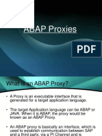 Traning PPT on ABAP Proxies