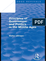 Principies of Government and Politics in the Middle Ages