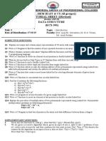 Data Structure (KCS 301) Tute 1