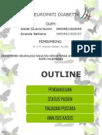 Ppt Case Polineuropati Dm