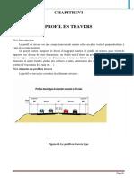 Définition Profil en Travers