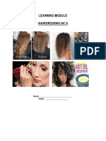 Learning Module in Hairdressing