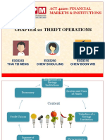 FMI - Chapter 21 Thrift Operations