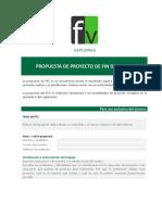 Propuesta PFC