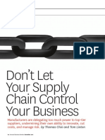 Don t let your supply chain control your business.pdf