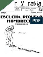 Revista Amor y Rabia Nr. 33
