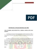 HISTORIA DE LA POLICIA NACIONAL DEL PERU