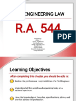 r.a. 544 Civil Engineering Law
