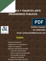 Tributaria y tramites ante organismos publicos.pptx