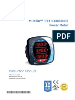 EPM 6000 Power Metering System
