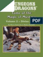 D&D Mystara Divine Magic Compilation