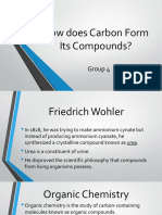How Does Carbon Form Its Compounds Group 4